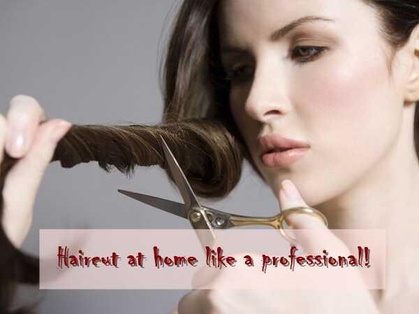 Κούρεμα μαλλιών στο σπίτι σαν επαγγελματίας!