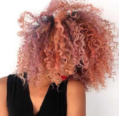 Παστέλ ροζ χρώμα μαλλιών