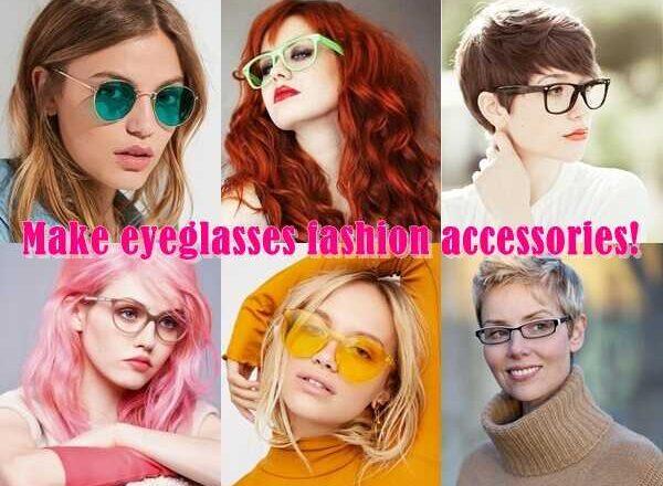 Κάνε τα γυαλιά οράσεως αξεσουάρ μόδας!