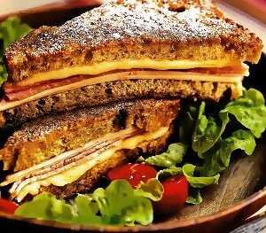 1.Ελβετικό σάντουιτς