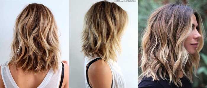 Κυματιστά χτενίσματα για μαλλιά ως τον ώμο