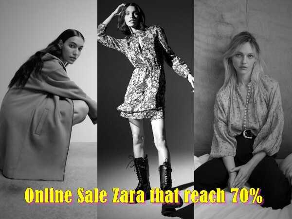 Online εκπτώσεις στα Zara που φτάνουν το 70%