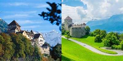 Ταξίδι στο εξωτερικό-Λιχτενστάιν, Ευρώπη