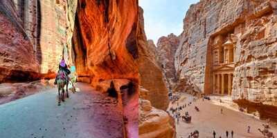 Ταξίδι στο εξωτερικό-Πέτρα Ιορδανία