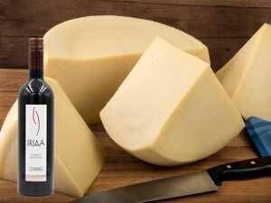 Κασέρι με κρασί Cabernet Sauvignon