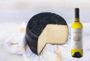 Αρσενικό Νάξου με κρασί Ασύρτικο Σαντορίνης