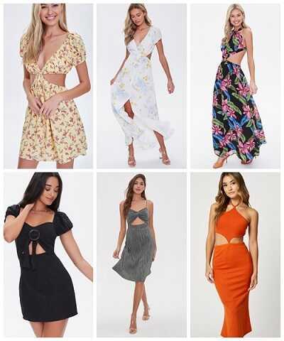 Φορέματα μεκοψίματα η νέα καλοκαιρινή extreme τάση