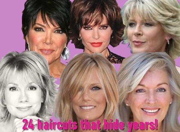 24 κουρέματα που κρύβουν χρόνια!