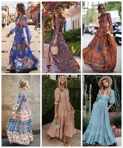 Maxi αέρινα φορέματα η νέα καλοκαιρινή extreme τάση