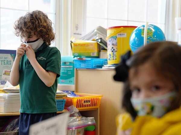 Ο κορονοϊος στα παιδιά έχει μηδενικά συμπτώματα!