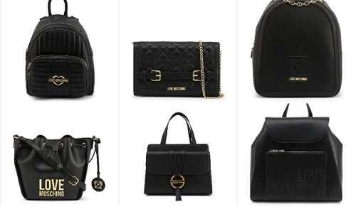Γυναικείες τσάντες σε μαύρο χρώμα