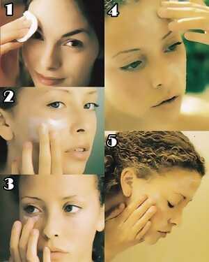 Η περιποίηση του δέρματος βήμα-βήμα
