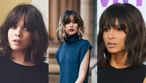 Τάσεις μαλλιών 2022/ Μαλλιά μεσαίου μήκους με αφέλειες